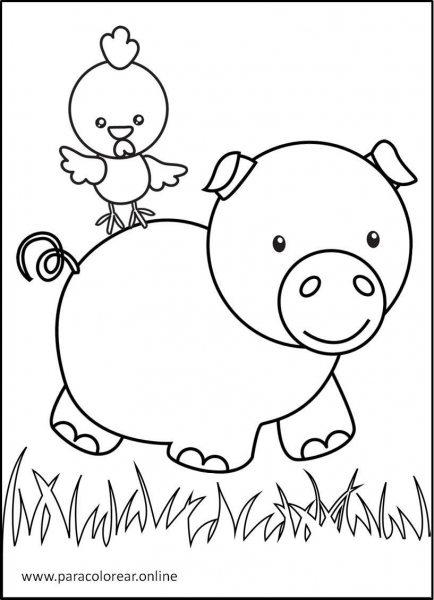 Animales-de-la-granja-para-colorear-6