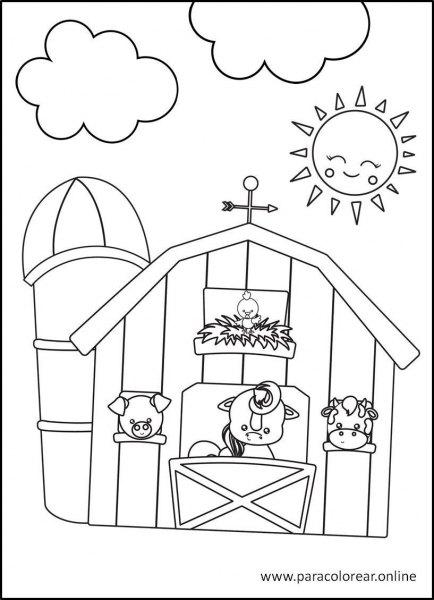 Animales-de-la-granja-para-colorear-9