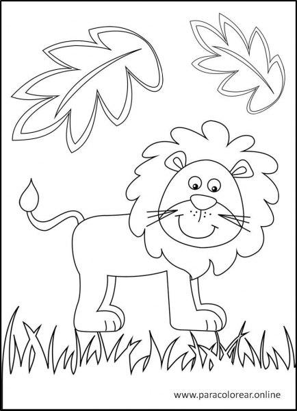 Animales-de-la-selva-para-colorear-1