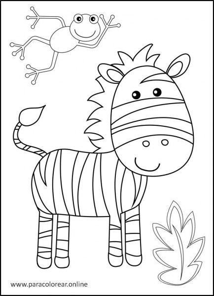 Animales-de-la-selva-para-colorear-2