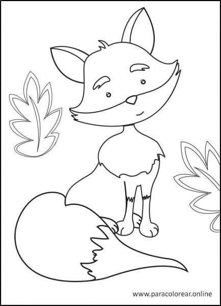 Animales-del-bosque-para-colorear-7