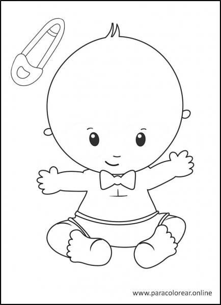 Bebés-para-colorear-3
