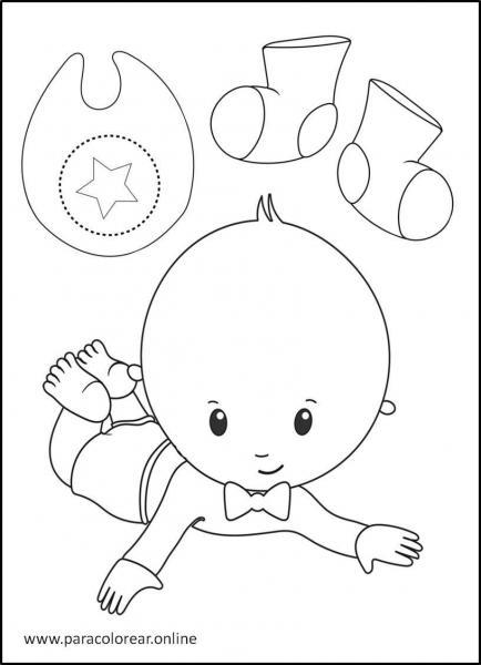 Bebés-para-colorear-6