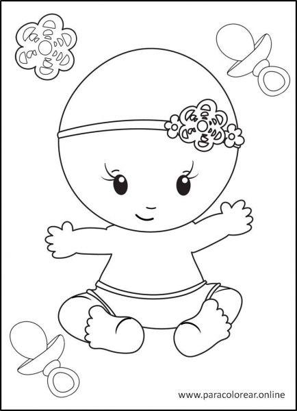 Bebés-para-colorear-7