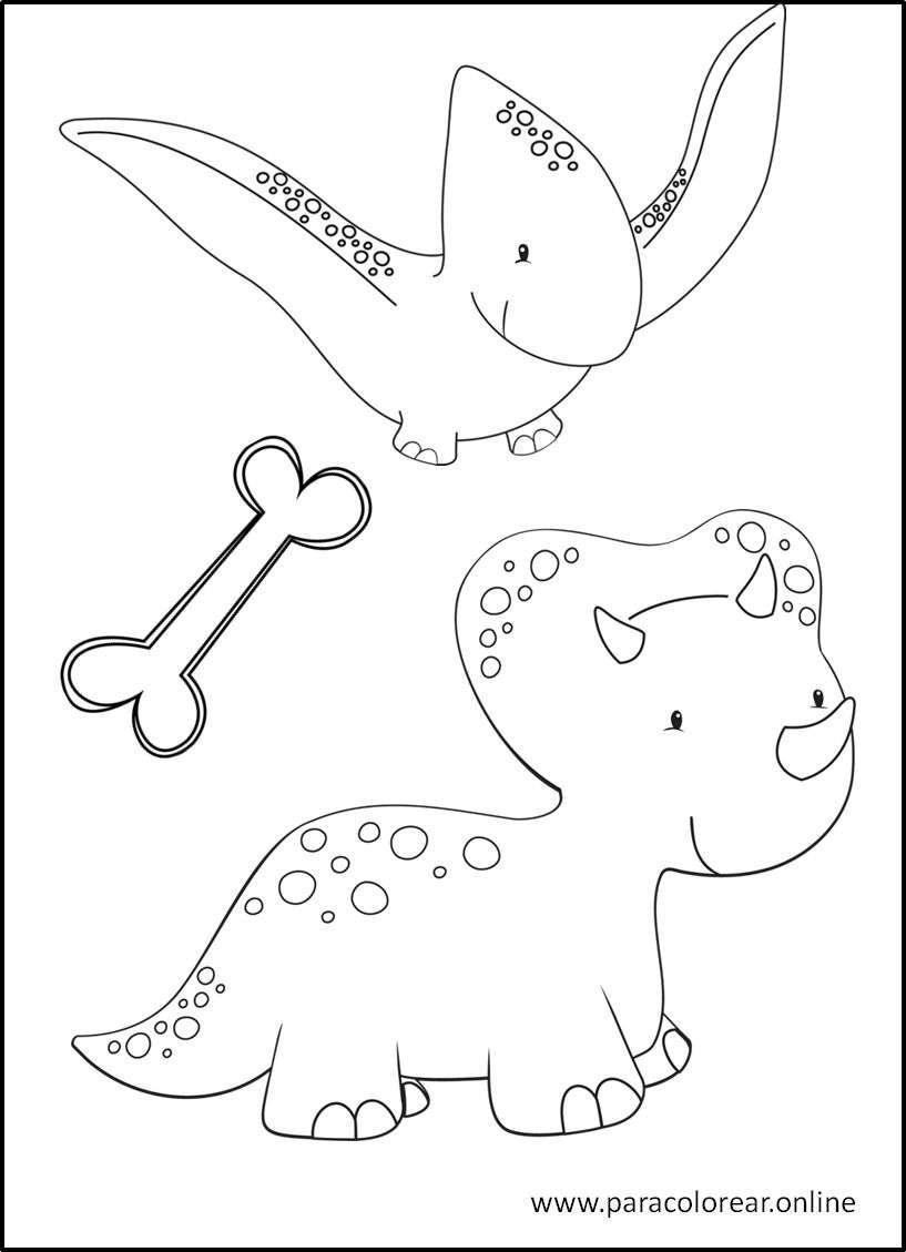 Los Mejores Dibujos De Dinosaurios Para Colorear Imprimir Y Pintar Dibujo de dinosaurio para colorear. dinosaurios para colorear imprimir