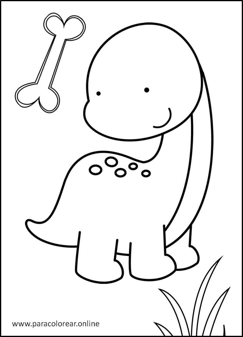 Los Mejores Dibujos De Dinosaurios Para Colorear Imprimir Y Pintar Tiernos o feroces, los dinosaurios siempre son impresionantes. dinosaurios para colorear imprimir