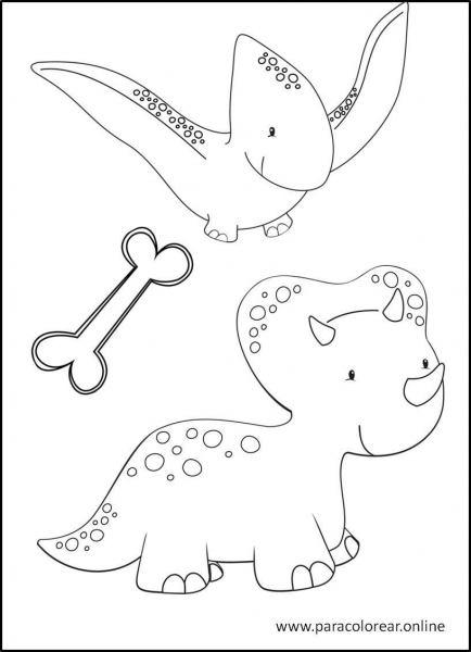 Dinosaurios-para-colorear-3