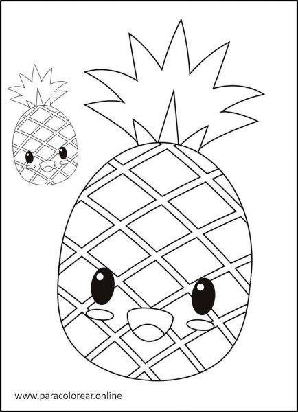 Frutas-para-colorear-8