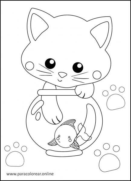 Gatos-para-colorear-2