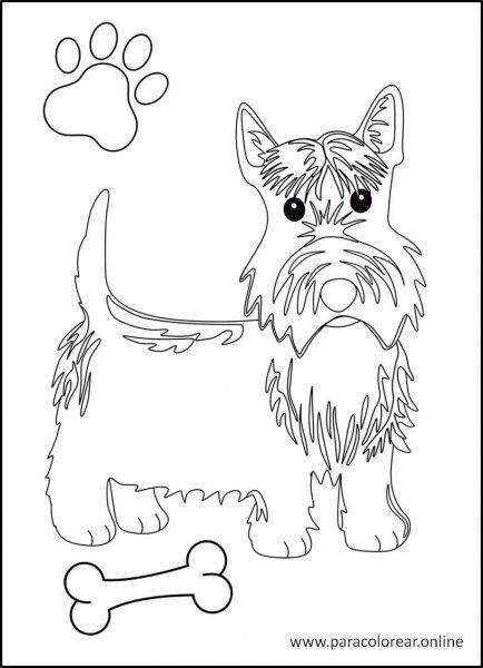 Perros-para-colorear-1