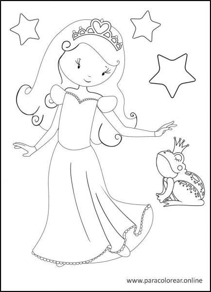 Princesas-para-colorear-1