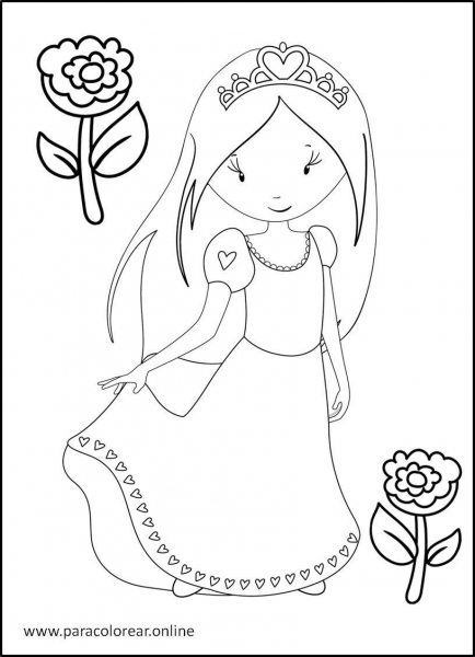 Princesas-para-colorear-2