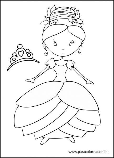 Princesas-para-colorear-5