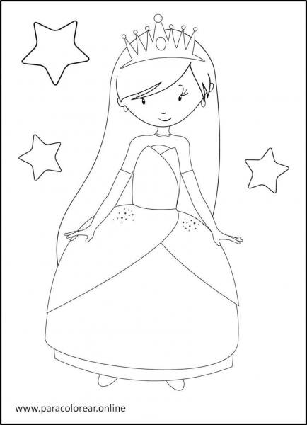 Princesas-para-colorear-6