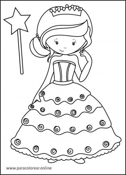 Princesas-para-colorear-8