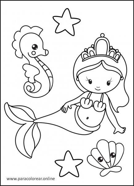 Sirenas-para-Colorear-2