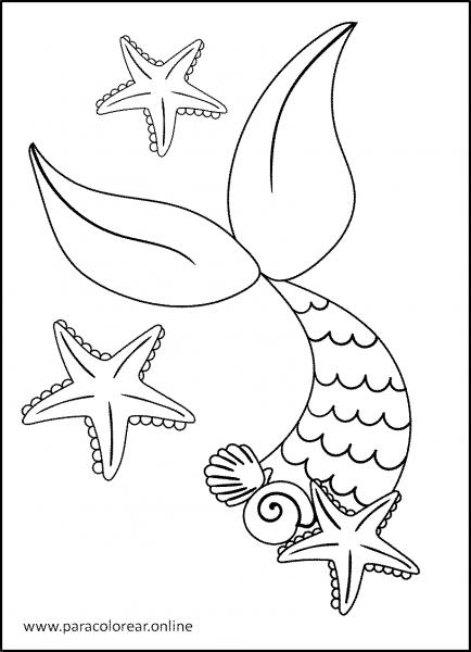 Sirenas-para-Colorear-4