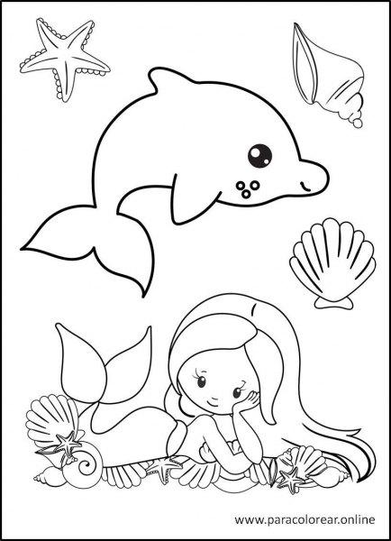Sirenas-para-Colorear-5