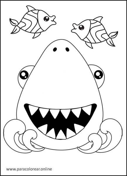 Tiburones-para-Colorear-2