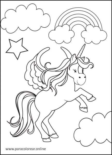 Unicornios-para-Colorear-6