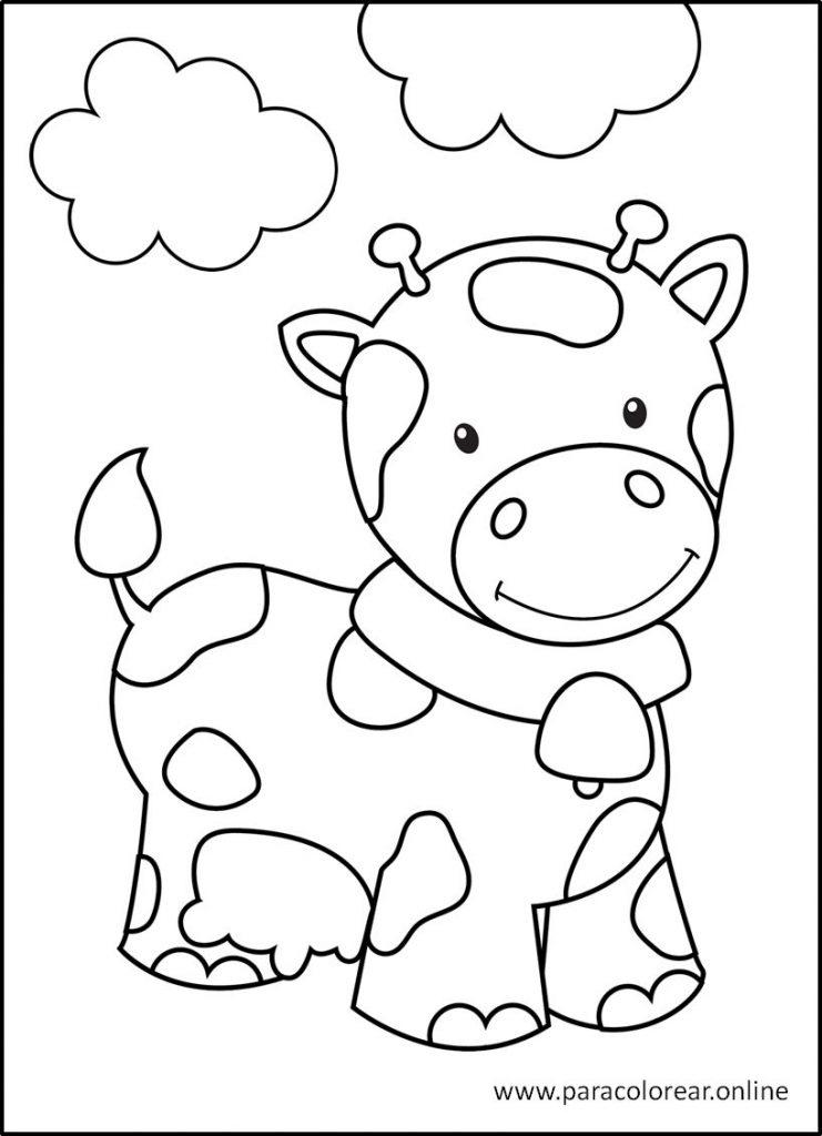 Imágenes de animales para colorear y pintar